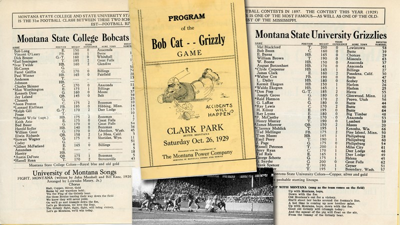 BOBCAT CALENDAR: The 1929 Bobcats Ended a Long Dry Spell Against the Grizzlies - Montana State University Athletics