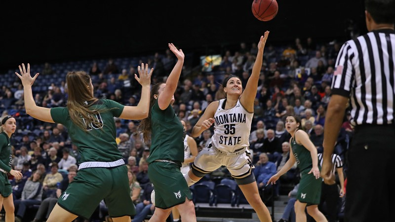 Unflappable Fallyn Freije Lets Emotion Flow After Leading Cats Past Lady Griz - Montana State University Athletics